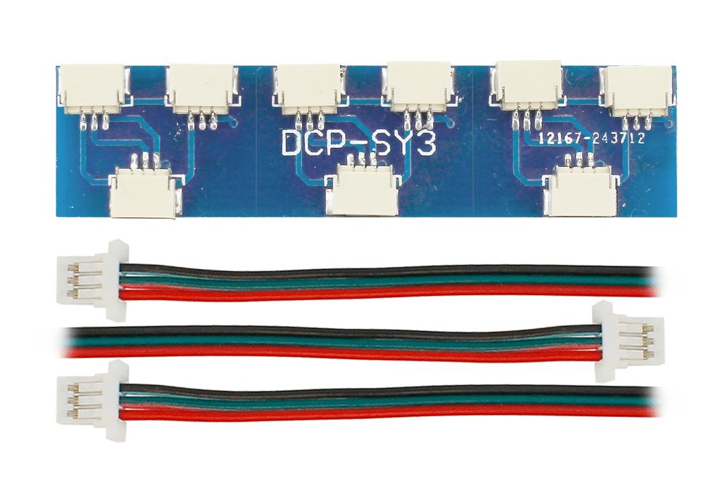 Cobalt Alpha Switch Y-Connectors (3 Pack)