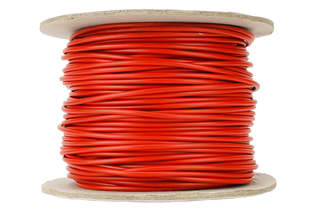 Power Bus Wire 50m of 1.5mm (15g) Red.
