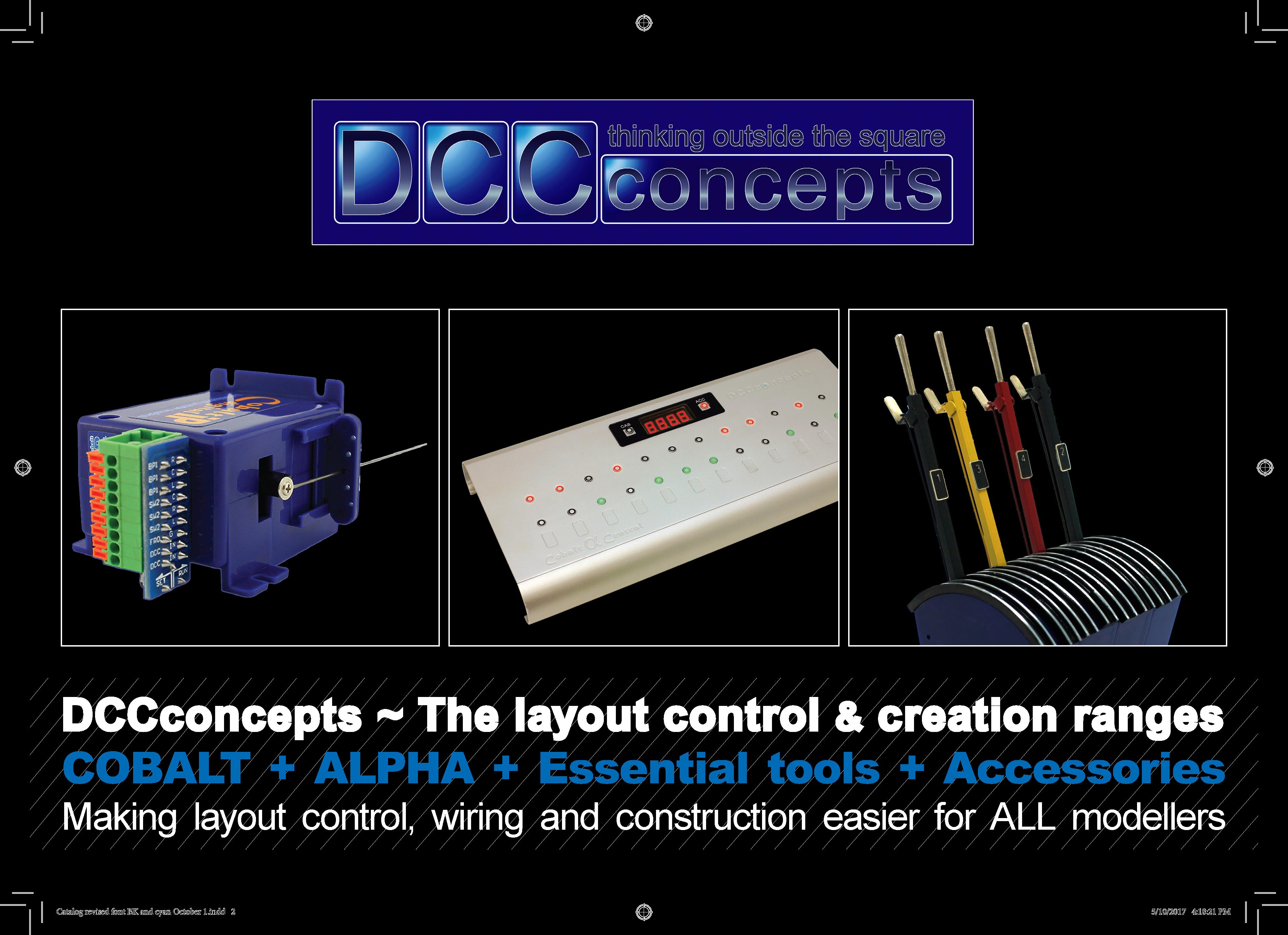 DCCconcepts Layout Control Catalog